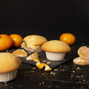 mandarino, muffin, dolcce, ricetta, aerofryer, friggitrie ad aria, princess, princess home,