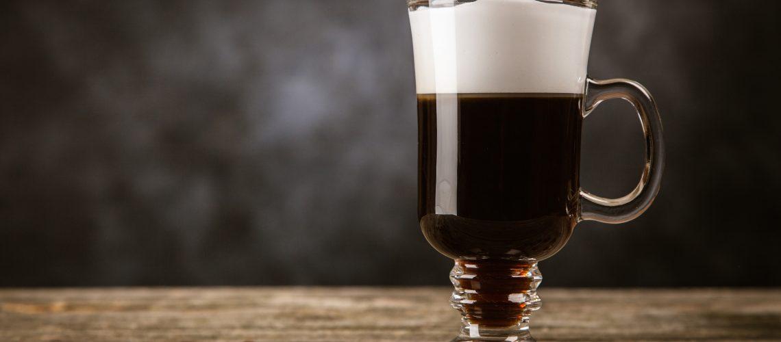 El clásico café irlandés