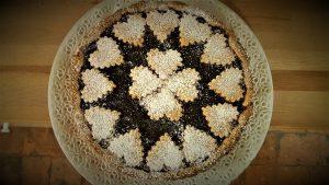 Crostata, confettura, fichi, nocciole, torta, ricetta, dolce, aerofryer, princess, princess home,