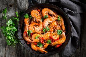 Hot chili shrimp
