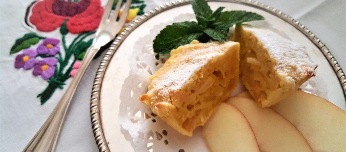 Tartellette dolci alle mele, zenzero e mandorle