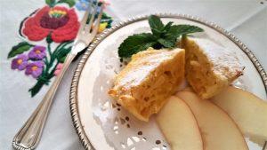 Tartellette, dolce, mele, zenzero, mandorle, aerofryer, friggitrice ad aria, ricetta, princess, princess home, dessert