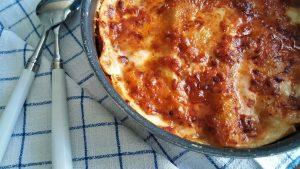 Lasagne, bolognese, spinacino, ragù, ricetta, forno, friggitrice ad aria, princess, priness home, aerofyer
