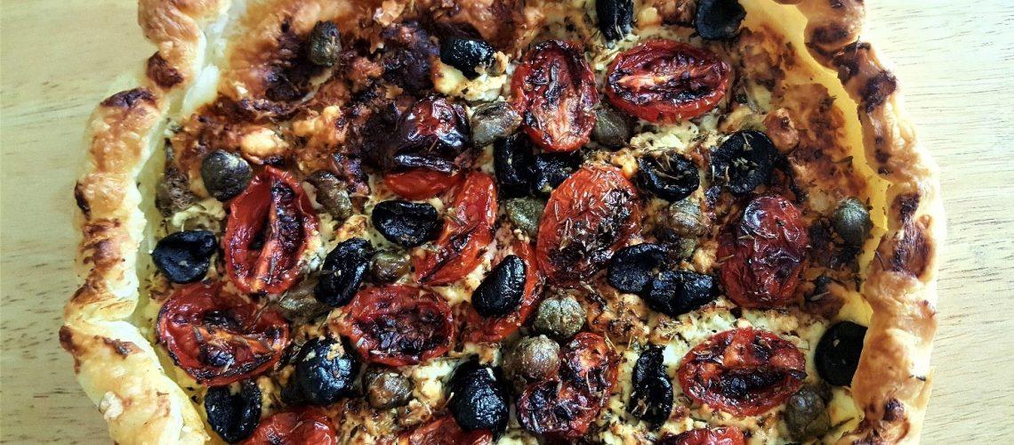 Pizza-sfoglia alla greca