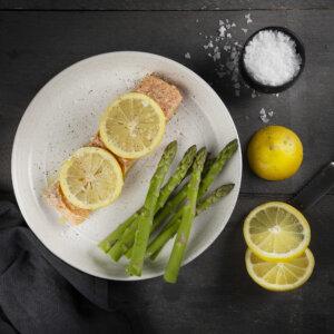 salmone, agrumi, pompelmo, arancia, lime, limone, cartoccio, ricetta, aerofryer, friggitrice ad aria, princcess, princess home
