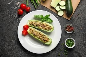 zucchine, ripiene, croccanti, secondo piatto, carne, ricetta, princess, princess home