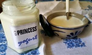 yogurt, fatto in casa, macchina del pane, princess, princess home, ricetta, latte, gluten free