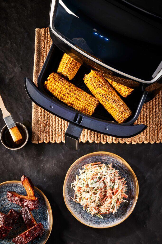 Geroosterde maiskolven recept