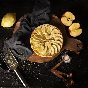 torta, mele, limone, ricetta, aerofryer, friggitrie ad aria, forno, princess, princess home