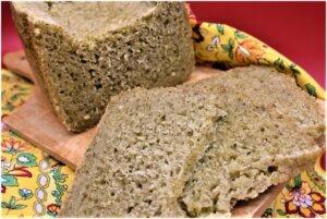 Pane al tè verde, ricetta, pane fatto in casa, macchina del pane, princess, princess home