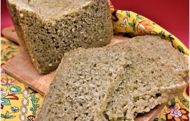 Pane al tè verde