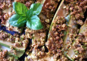 crumble, zucchine, ricetta, aerofryer, friggitrice ad aria, forno ad aria, princess, princess home