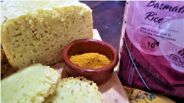 pane di riso al curry