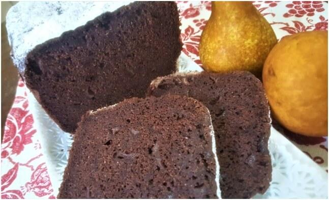 pane dolce pere e cioccolato