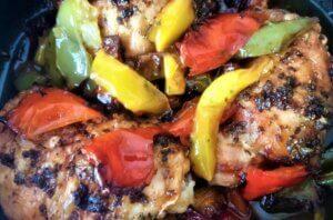 pollo ai peperoni, princess, princess home, ricetta, pollo, carne, peperoni, friggitrice ad aria, aerofyer