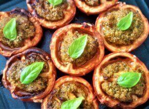 pomodori gratinati, friggitrice ad aria, princess, princess home, aerofyer, ricetta