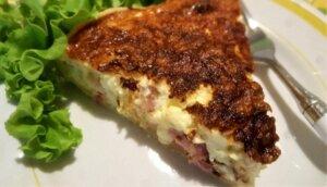 quiche lorraine, torta salata, princess, princess home, friggitrice ad aria, aerofryer, ricetta