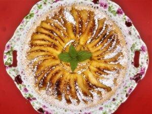 crostata di mele, torta, dolce, mele, arancia, nocciole, princess, princess home, aerofryer, steam, forno, friggitrice ad aria