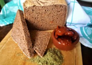 Pane alla pizzaiola, pane fatto in casa, macchina del pane, panettiera, princess, princess home, ricetta, pomodori